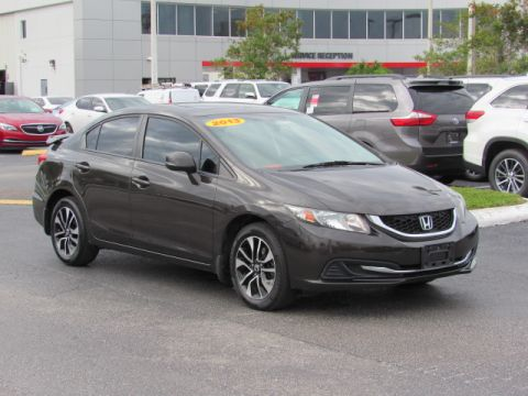 Pre-Owned 2013 Honda Civic Sdn 4dr Auto EX