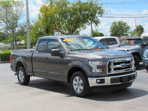 Pre-Owned 2016 Ford F-150 2WD SuperCab 145 XLT