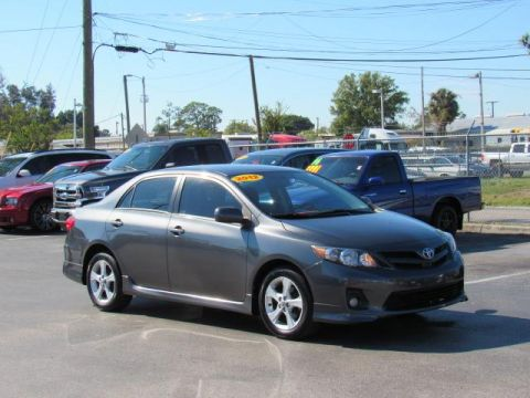 Pre-Owned 2012 Toyota Corolla 4dr Sdn Man S