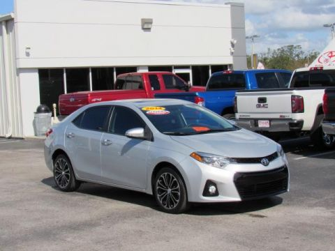 Certified Pre-Owned 2014 Toyota Corolla 4dr Sdn Man S Plus