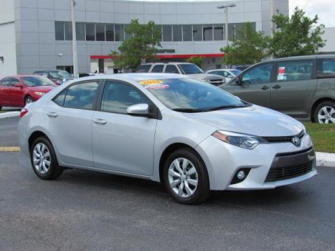 Certified Used Toyota Corolla 4dr Sdn CVT LE