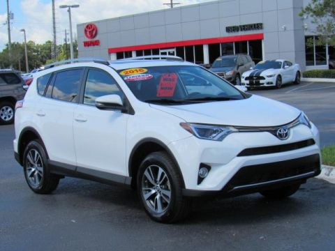 Certified Used Toyota RAV4 FWD 4dr XLE