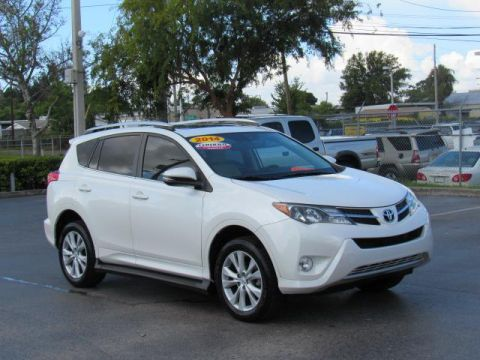 Certified Pre-Owned 2014 Toyota RAV4 FWD 4dr Limited