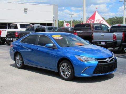 Certified Pre-Owned 2017 Toyota Camry SE Auto