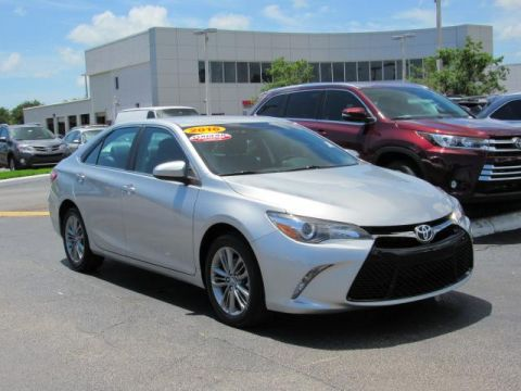 Certified Used Toyota Camry 4dr Sdn I4 Auto SE