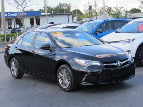 Certified Used Toyota Camry SE Auto