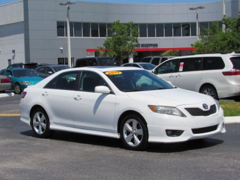 Used Toyota Camry 4dr Sdn I4 Auto SE