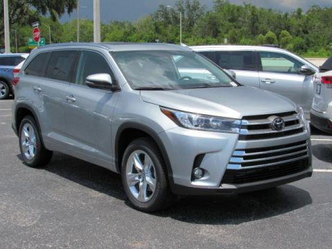 New Toyota Highlander Limited V6 FWD