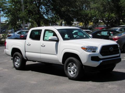 New Toyota Tacoma SR Double Cab 5' Bed I4 4x2 AT