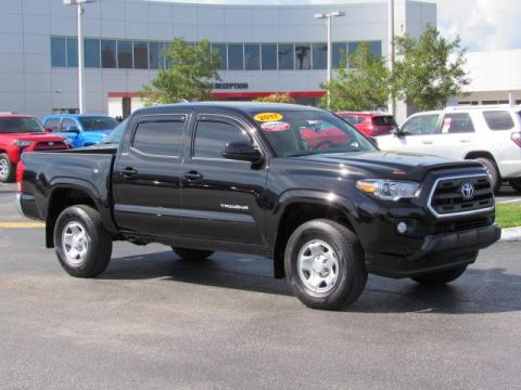 Certified Used Toyota Tacoma SR5 Double Cab 5' Bed I4 4x2 AT