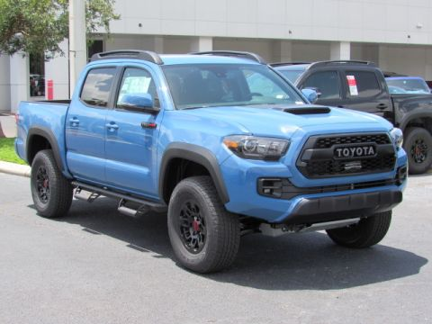 New 2018 Toyota Tacoma TRD Pro Double Cab 5' Bed V6 4x4 MT 4WD