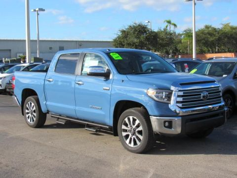 New 2019 Toyota Tundra 2WD Limited CrewMax 5.5' Bed 5.7L With Navigation