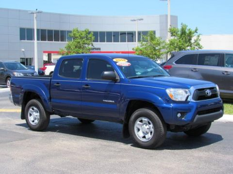 Certified Used Toyota Tacoma 2WD Double Cab V6 AT PreRunner