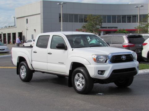 Certified Pre-Owned 2014 Toyota Tacoma 2WD Double Cab I4 AT PreRunner