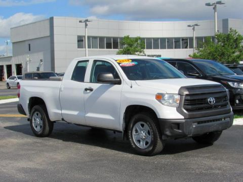 Certified Used Toyota Tundra 4WD Truck Double Cab 4.6L V8 6-Spd AT SR