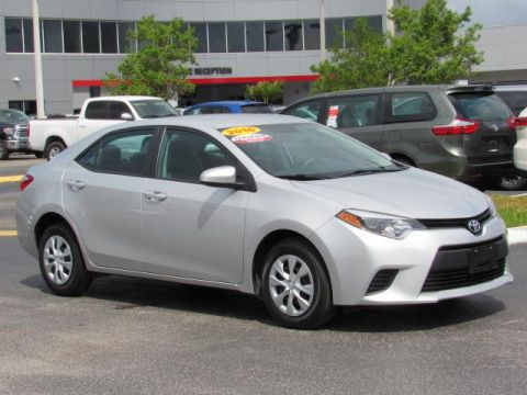 Certified Used Toyota Corolla 4dr Sdn Auto L