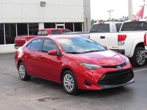 Certified Used Toyota Corolla LE CVT