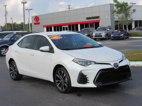 Certified Used Toyota Corolla SE CVT