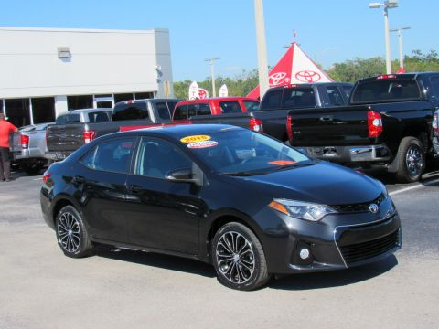 Certified Pre-Owned 2015 Toyota Corolla 4dr Sdn CVT S