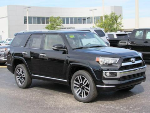 New Toyota 4Runner Limited 4WD