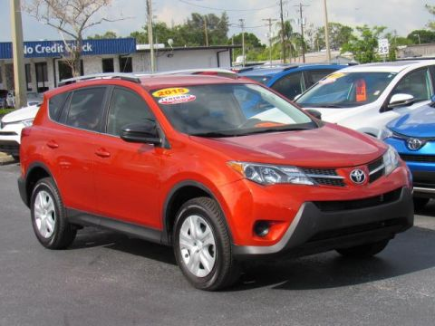 Certified Used Toyota RAV4 FWD 4dr LE