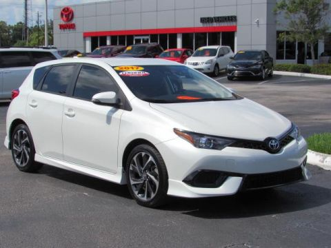 Certified Pre-Owned 2017 Toyota Corolla iM CVT