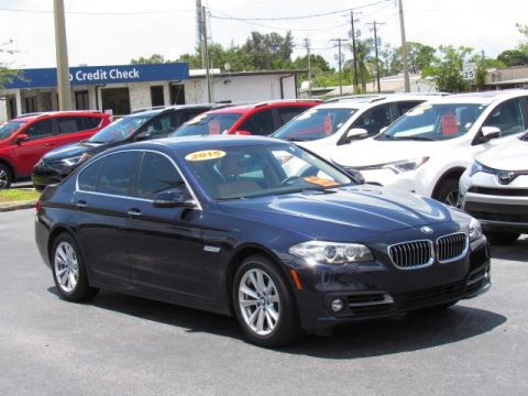 Pre-Owned 2015 BMW 5 Series 4dr Sdn 528i RWD
