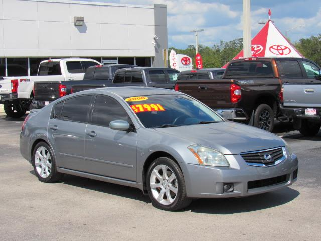Lovely Pre Owned 2008 Nissan Maxima 4dr Sdn CVT 3.5 SE