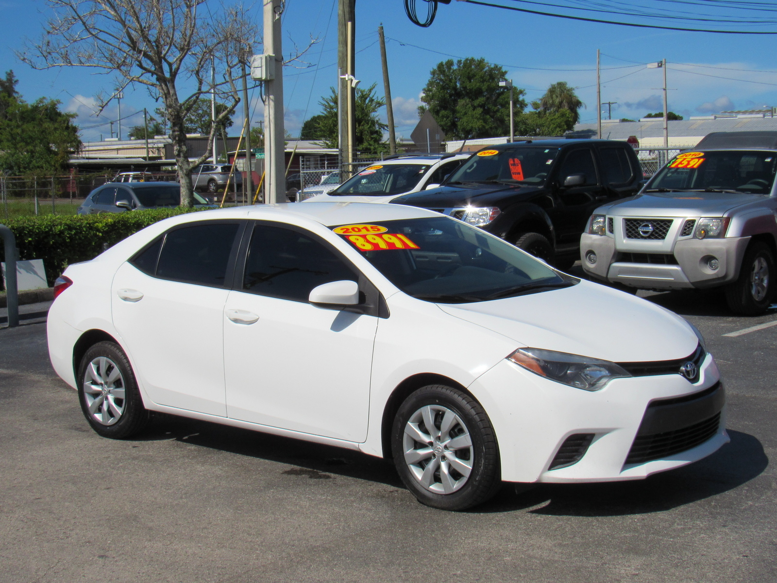 Pre-Owned 2015 Toyota Corolla 4dr Sdn CVT LE (Natl)