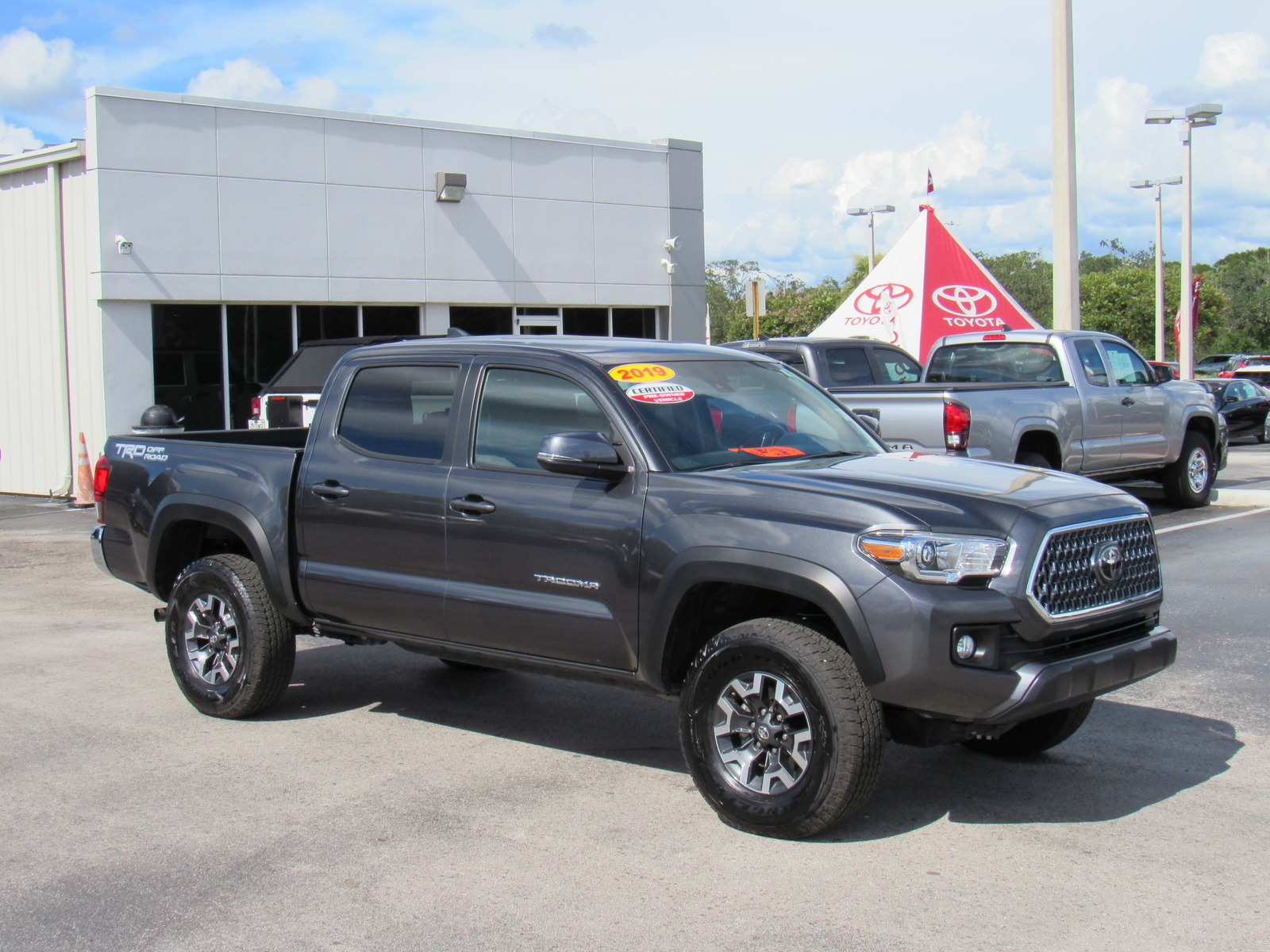Certified Pre-Owned 2019 Toyota Tacoma TRD Sport Double Cab 5' Bed V6 AT (Natl)