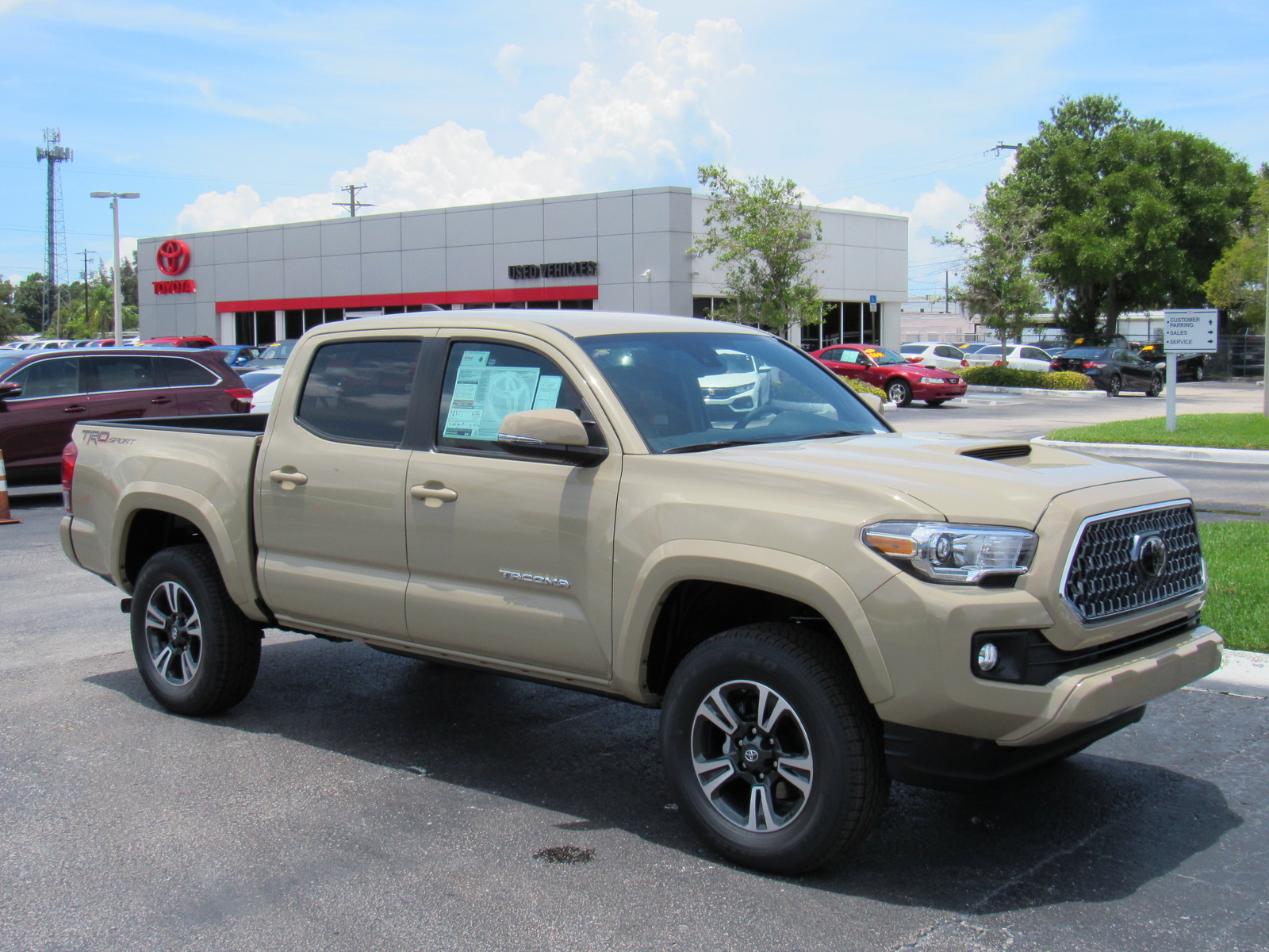 New 2019 Toyota Tacoma 2WD TRD Sport Double Cab 5' Bed V6 AT (Natl) Rear  Wheel Drive