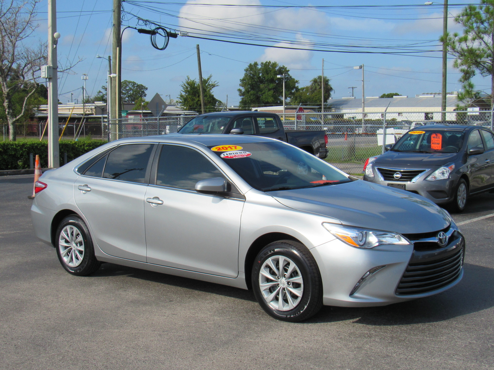 Certified Pre-Owned 2017 Toyota Camry LE Auto (Natl)