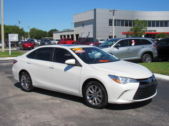 Certified Pre-Owned 2016 Toyota Camry 4dr Sdn I4 Auto XLE (Natl)