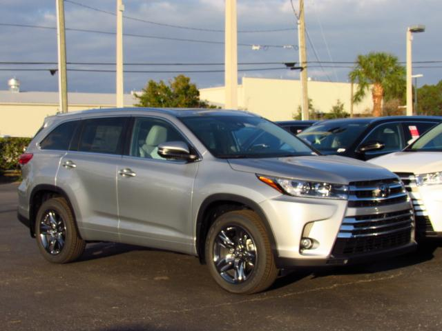 New 2018 Toyota Highlander Limited Platinum V6 Awd Sport