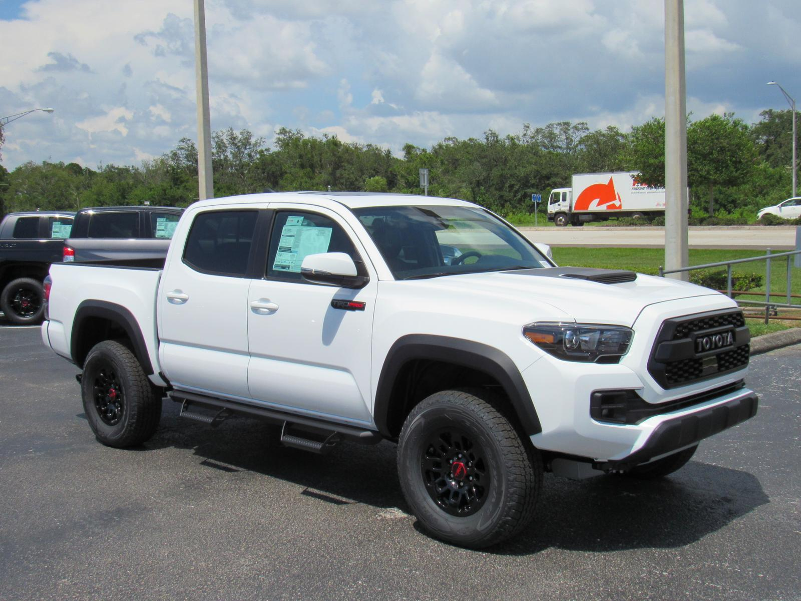 New 2019 Toyota Tacoma 4wd Trd Pro Double Cab 5 Bed V6 At 4wd