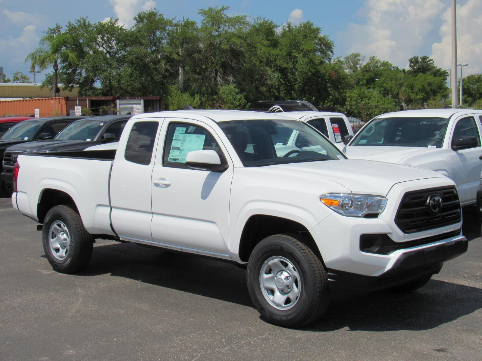 New 2019 Toyota Tacoma 4WD SR Access Cab 6' Bed V6 AT 4WD