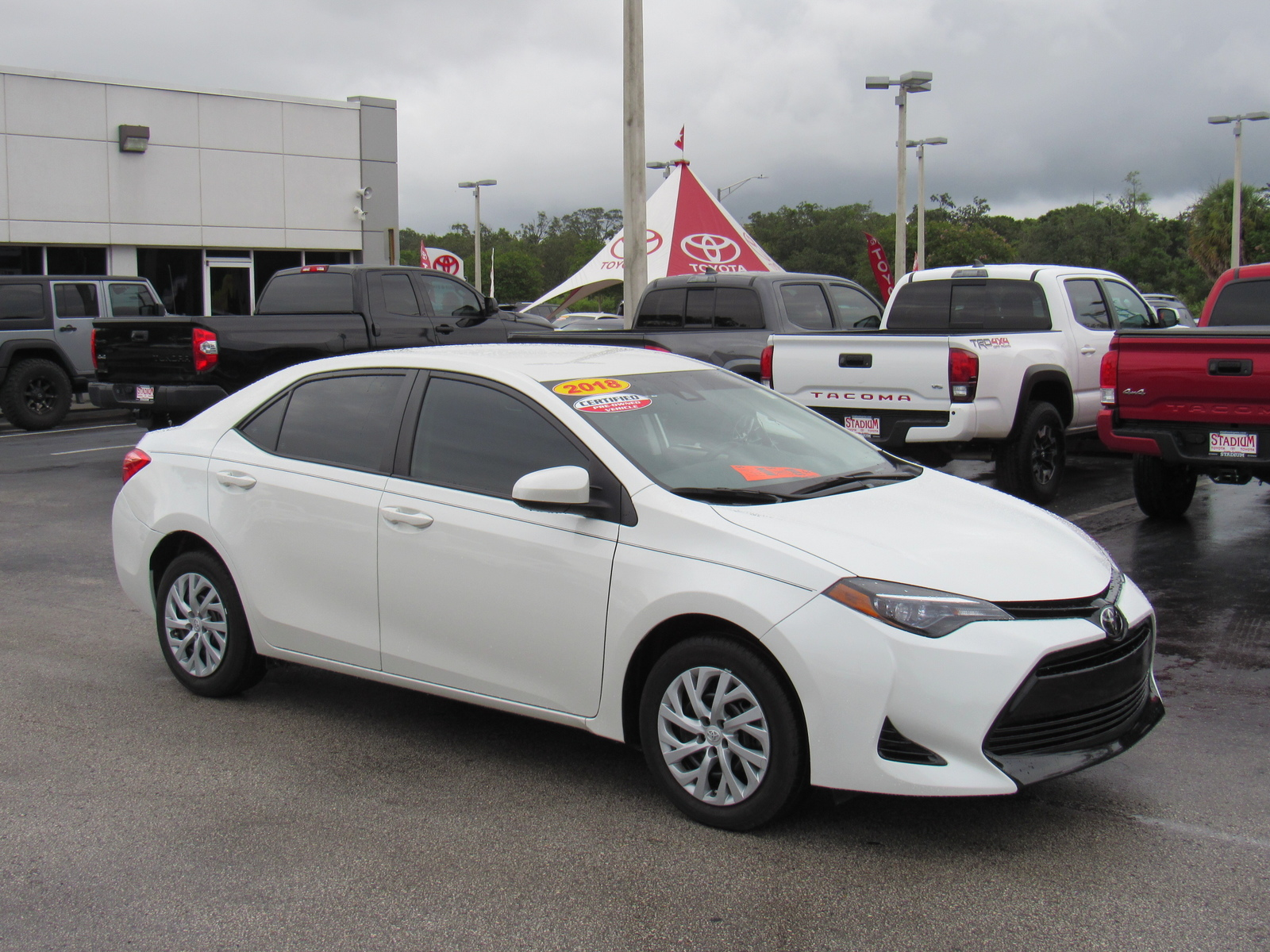 Certified Pre-Owned 2018 Toyota Corolla LE CVT (Natl)