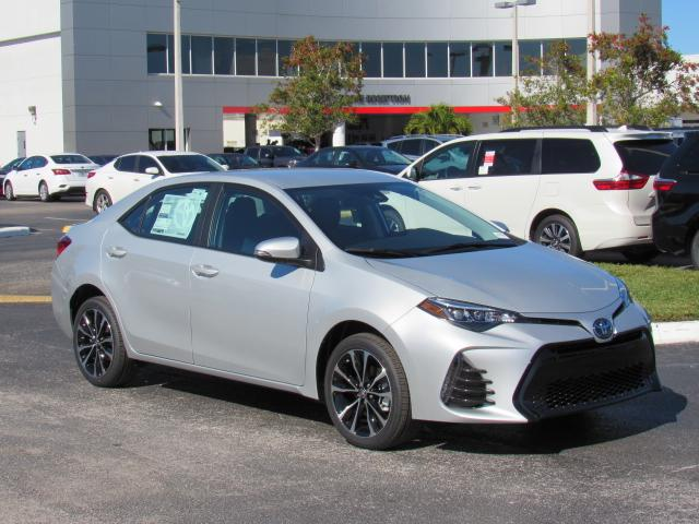 New 2019 Toyota Corolla Se Cvt Sedan In Tampa 191388 Stadium Toyota