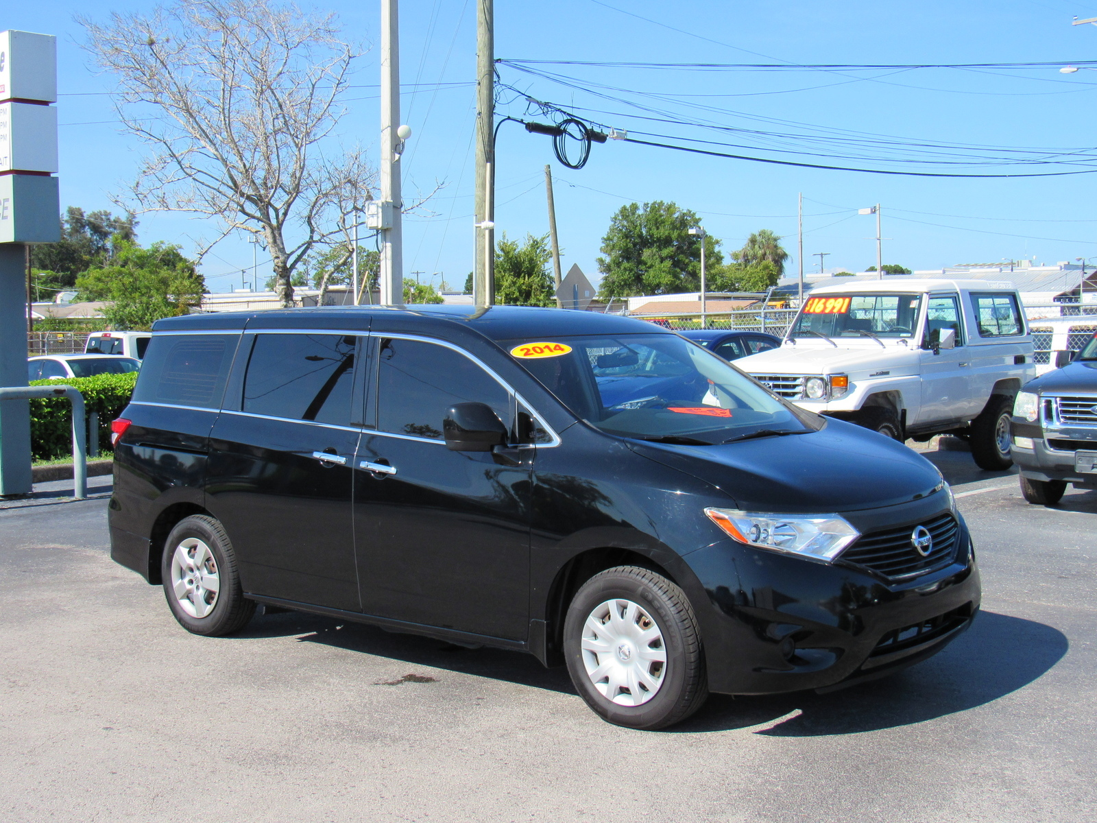 Pre-Owned 2014 Nissan Quest 4dr S