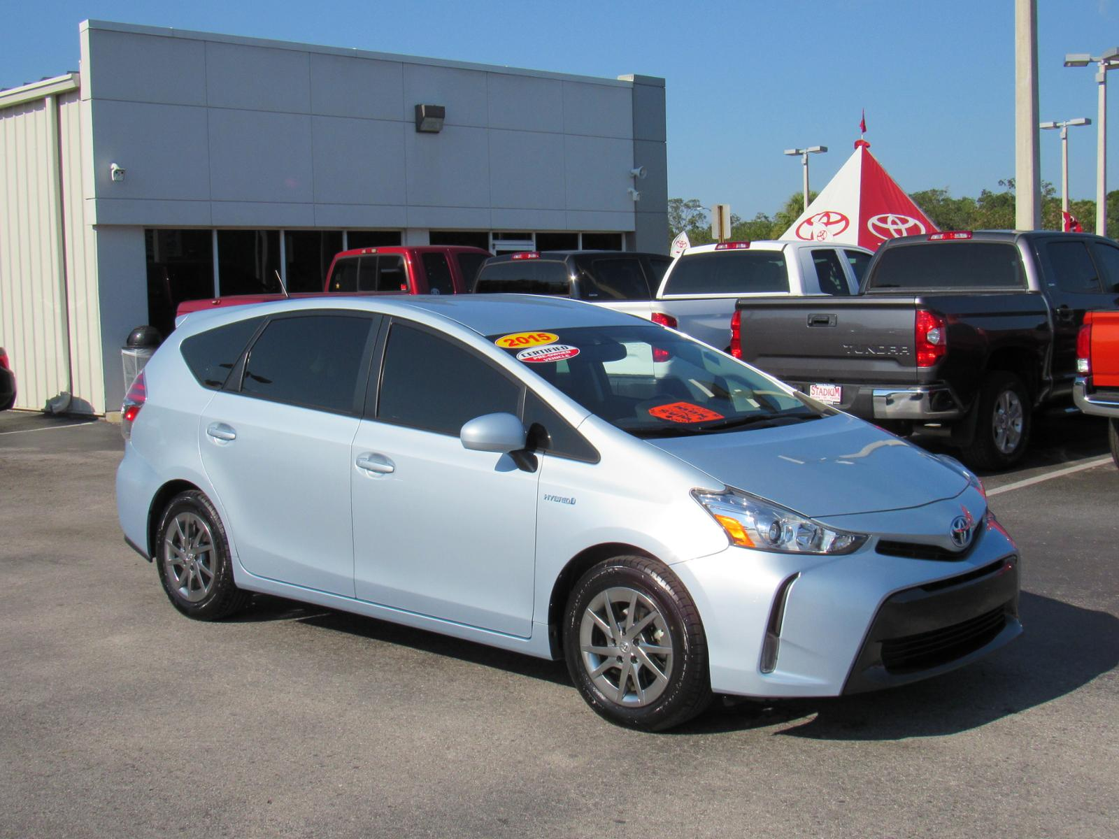 Certified Pre-Owned 2015 Toyota Prius V 5dr Wgn Three (Natl)