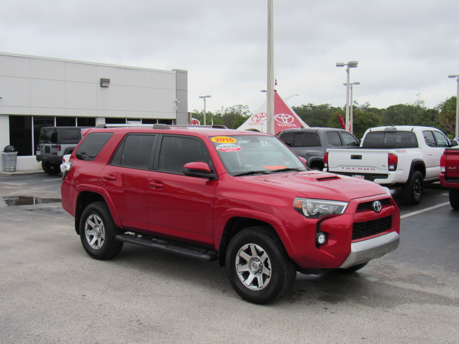 Certified Pre-Owned 2016 Toyota 4Runner 4WD 4dr V6 Trail (Natl)