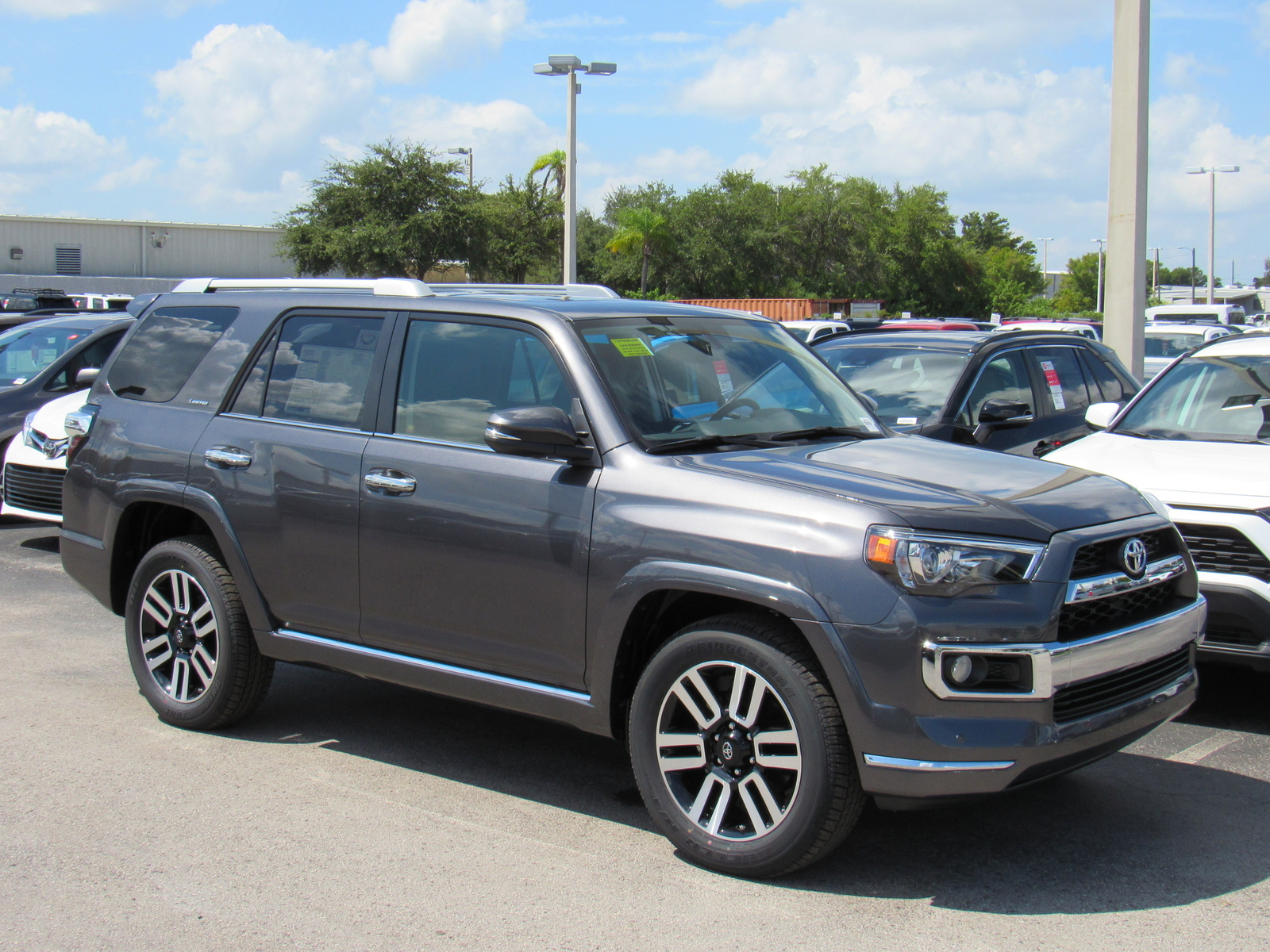 New 2019 Toyota 4runner Limited 2WD (Natl)