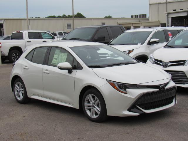 New 2019 Toyota Corolla Hatchback Se Cvt 4dr Car In Tampa 190720
