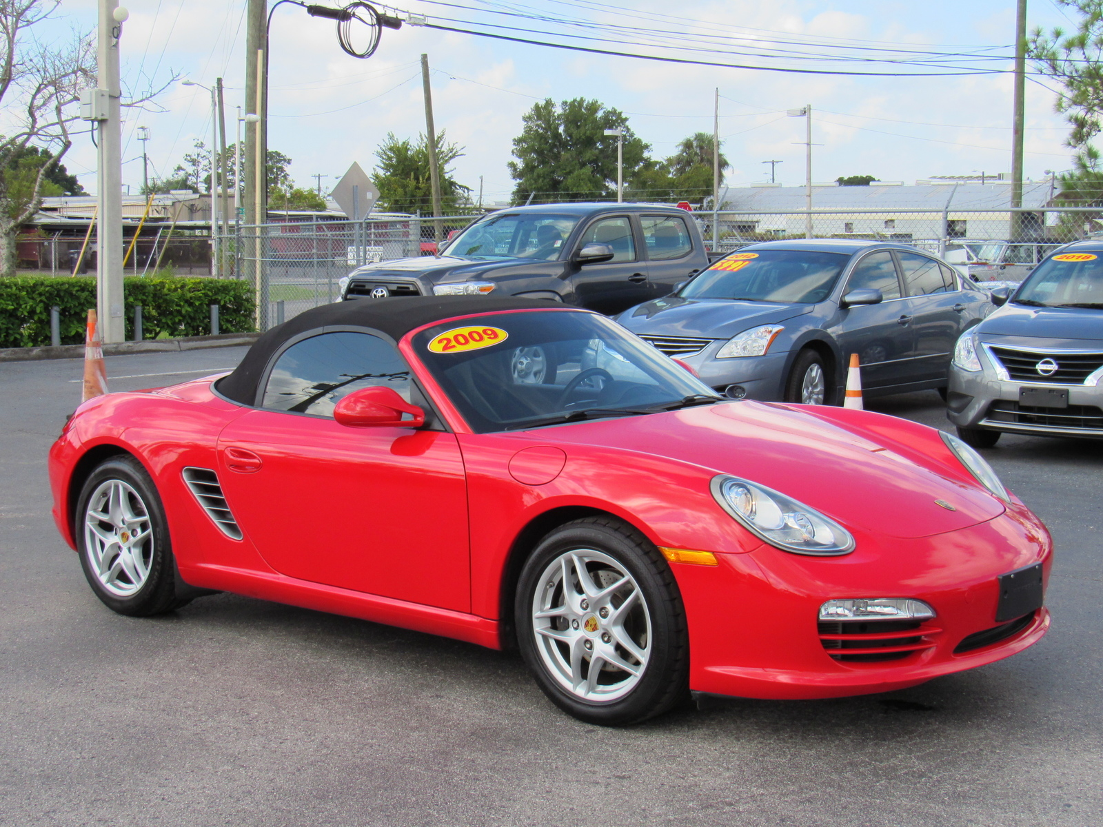Pre-Owned 2009 Porsche Boxster 2dr Roadster
