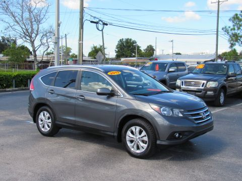 Pre-Owned 2013 Honda CR-V 2WD 5dr EX-L w/Navi Front Wheel Drive