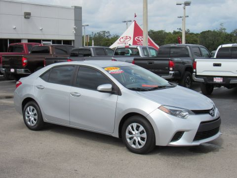Certified Pre-Owned 2015 Toyota Corolla 4dr Sdn Auto L (Natl) Front Wheel Drive