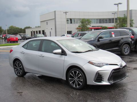 Certified Pre-Owned 2018 Toyota Corolla SE CVT (Natl) Front Wheel Drive