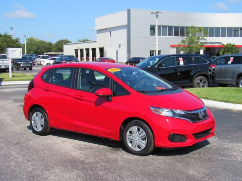 Pre-Owned 2018 Honda Fit LX CVT Front Wheel Drive