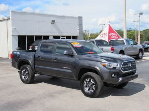 Certified Pre-Owned 2019 Toyota Tacoma TRD Sport Double Cab 5' Bed V6 AT (Natl) Rear Wheel Drive