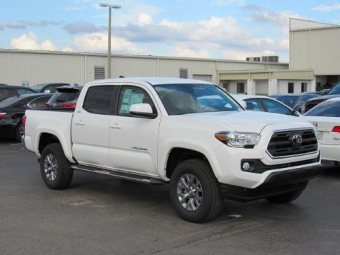 New 2019 Toyota Tacoma 2WD SR5 Double Cab 5' Bed V6 AT RWD